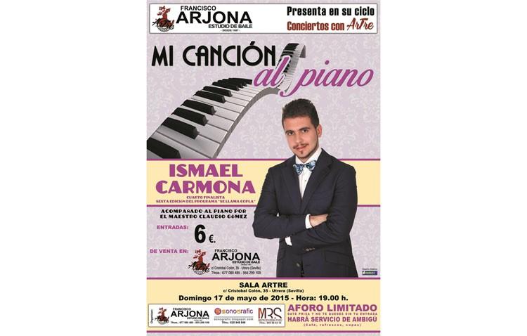 El coplero Ismael Carmona llega a la sala Artre con «Mi canción al piano»