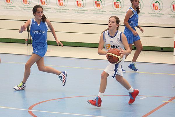 El «basket average» deja sin cuartos al C.B. Utrera infantil femenino