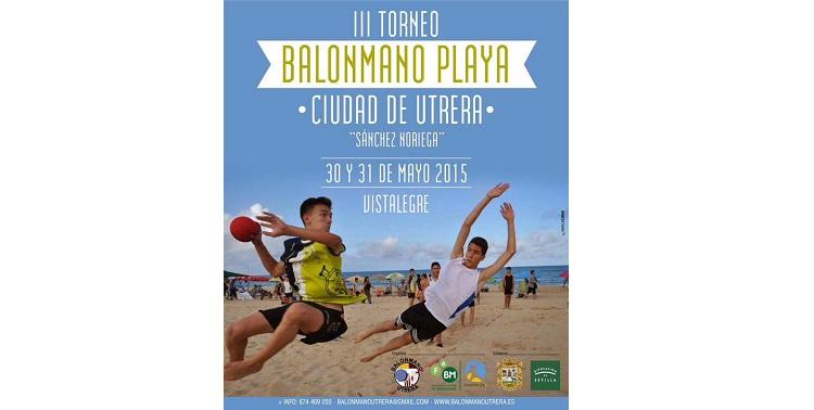 Ocho equipos utreranos pelearán por el III Ciudad de Utrera de balonmano playa