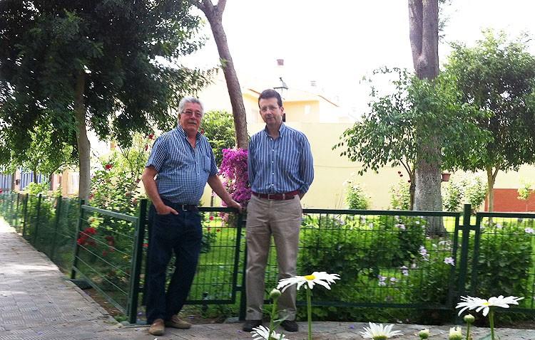 La Huerta Nueva, El Punto y Andrés Segovia, los jardines más bonitos de Utrera