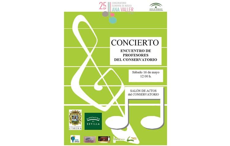 Un concierto de profesores del conservatorio unirá a los docentes de estos 25 años
