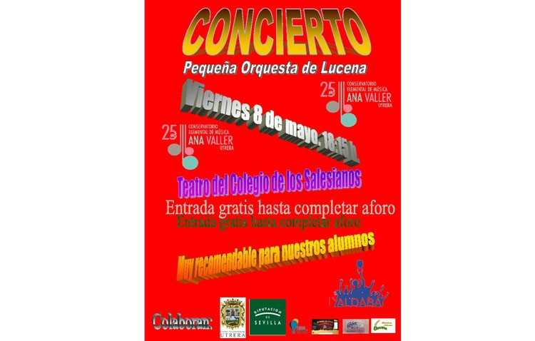 El conservatorio organiza un concierto muy especial con los niños como protagonistas