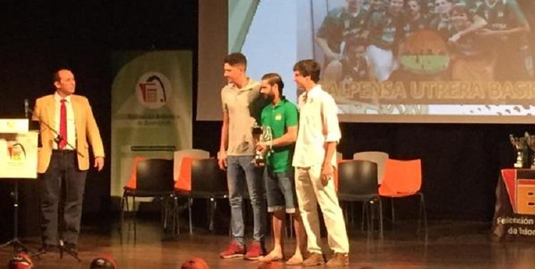 El baloncesto utrerano, premiado en la Gala FAB Sevilla 2015