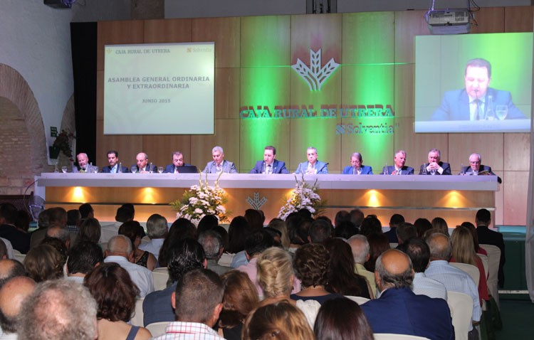 Caja Rural de Utrera presenta un «excelente» ejercicio 2014