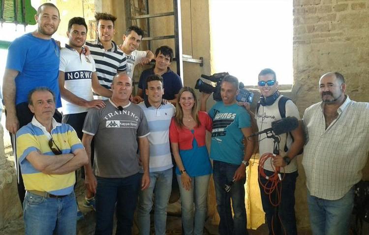 Los campaneros de Utrera, protagonistas de un reportaje en TVE (VÍDEO)
