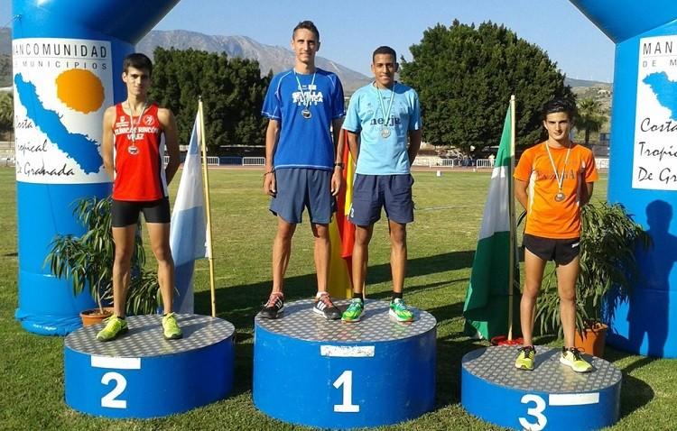 El atletismo utrerano suma tres nuevas medallas andaluzas