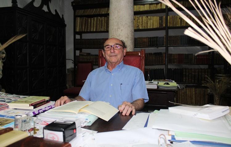 Manuel Cano, más de una década al servicio de la parroquia de Santiago