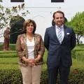 Los concejales populares Paqui Fuentes y Fernando Torres