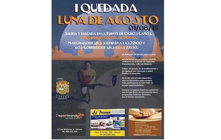 «I Quedada Nocturna Luna de Agosto» para iniciar el mes de agosto