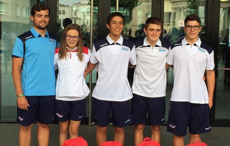 Los alevines del Natación Utrera mejoran su ránking tras la disputa del Campeonato de España