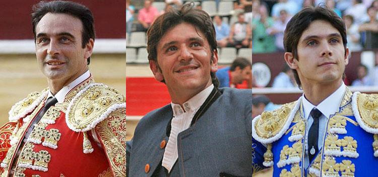 Enrique Ponce completa el cartel de la corrida de toros de feria, junto a Castella y Ventura