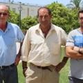 Manuel Navarro, José Antonio López León y Manuel Muñoz