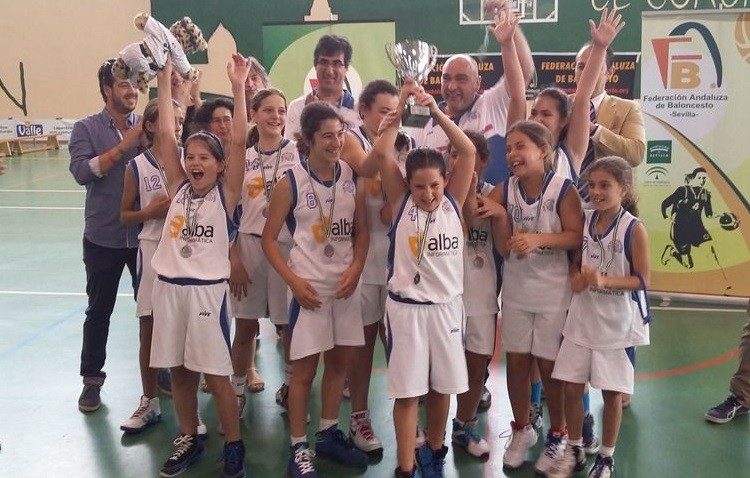 El mini femenino del C.B. Utrera comienza el Campeonato de Andalucía