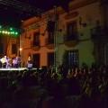 Numerosas personas disfrutaron del concierto inaugural de José Antonio Rodríguez