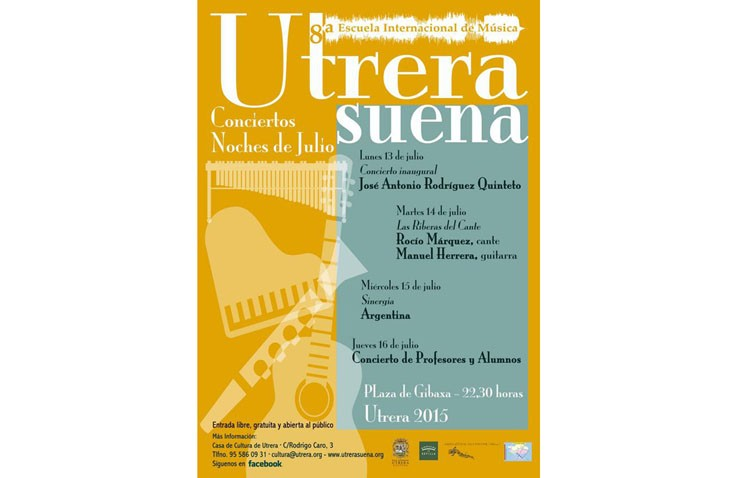 Comienza una semana llena de actividad y conciertos con «Utrera Suena»