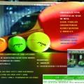 Cartel de la actividad deportiva