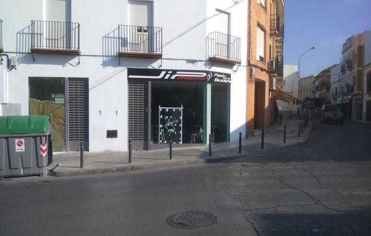 La Guardia Civil frustra un intento de robo en una tienda de bicicletas en Utrera