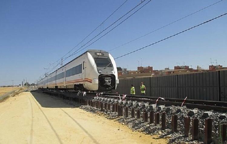 Siguen las obras de desdoble de vías en el último tramo del trazado, Utrera- Las Cabezas, pero sin fecha de terminación
