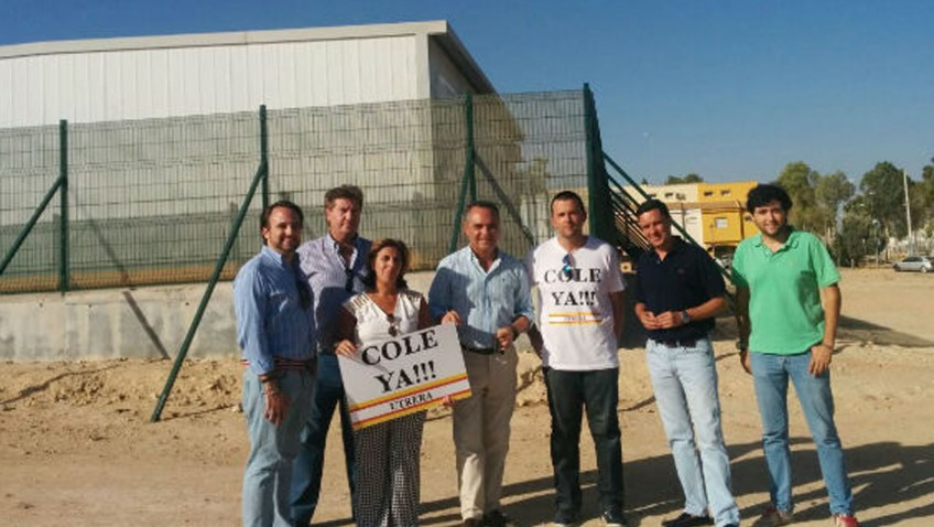 El Partido Popular de Sevilla reclama de nuevo a la Junta la construcción del colegio ubicado en La Mulata