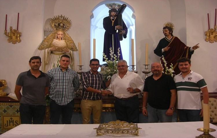 Muchachos de Consolación de Utrera acompañará al Señor del Gran Poder de Los Palacios el Viernes Santo de 2016