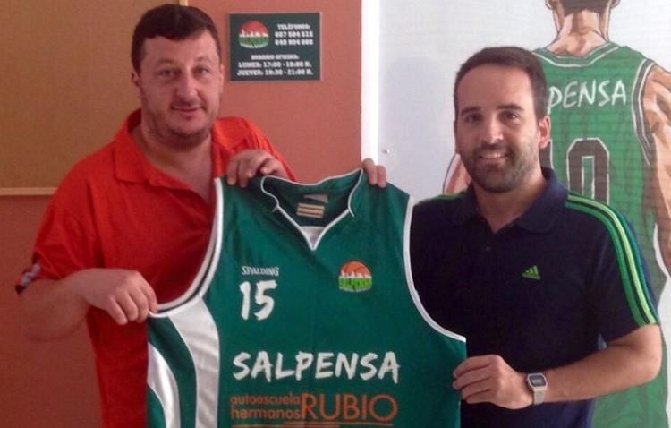 Nuevo entrenador del Salpensa Utrera Basket