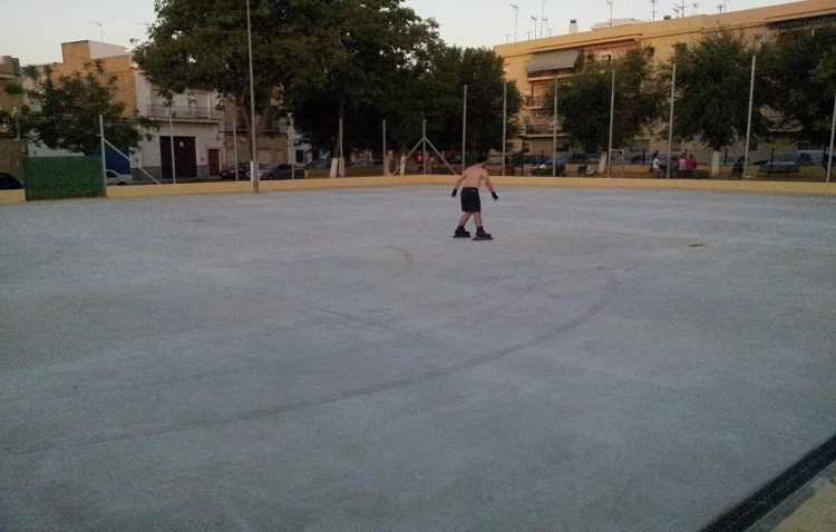El PA denuncia el trato que los vecinos de San Joaquín están recibiendo con el arreglo de sus instalaciones deportivas