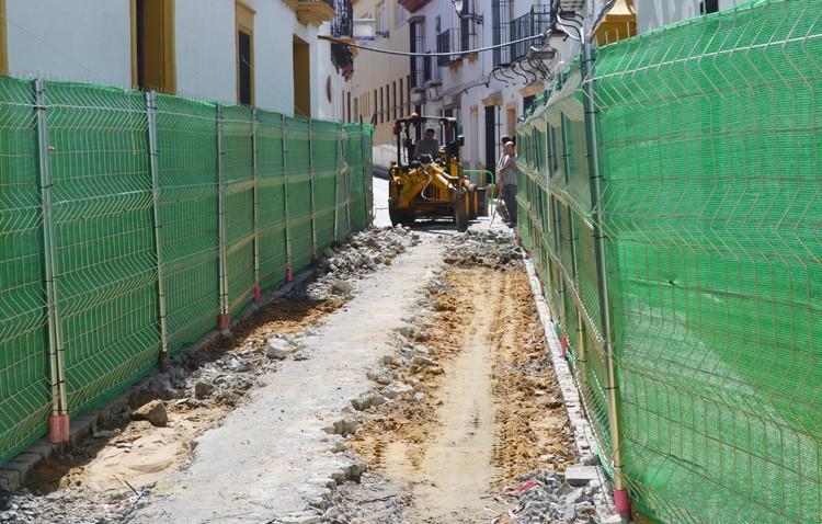 Comienza la reurbanización de la calle Menéndez Pelayo