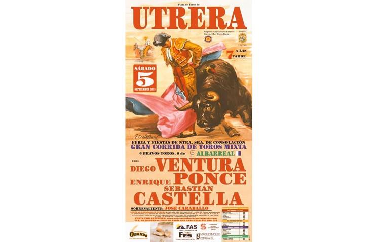 COPE Utrera (98.1 FM) retransmite en directo el festejo taurino de feria