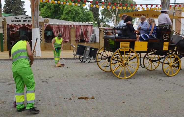 La Feria de Consolación generó 71 toneladas de basura