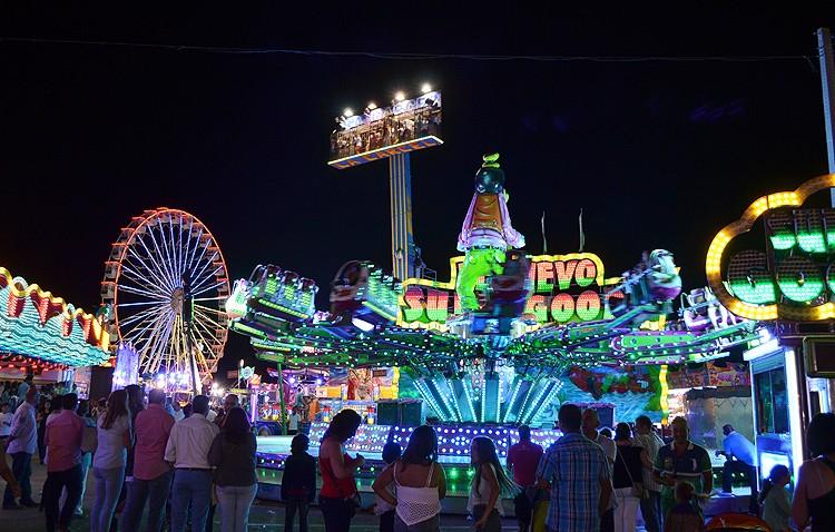 La Feria de Consolación dedicará un horario sin música y luces en las atracciones para que puedan ir los niños con autismo