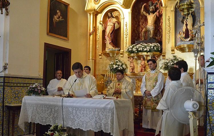 Ignacio Guillén comienza su nueva etapa pastoral como párroco en Aguadulce