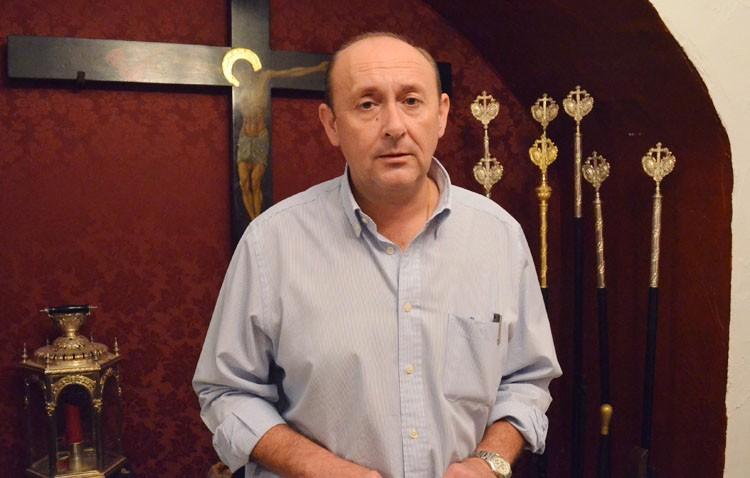 Luis Carlos López Ortega, nuevo hermano mayor de Los Milagros