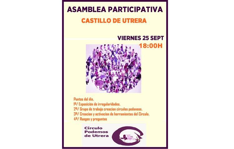 Podemos convoca una asamblea participativa en el castillo