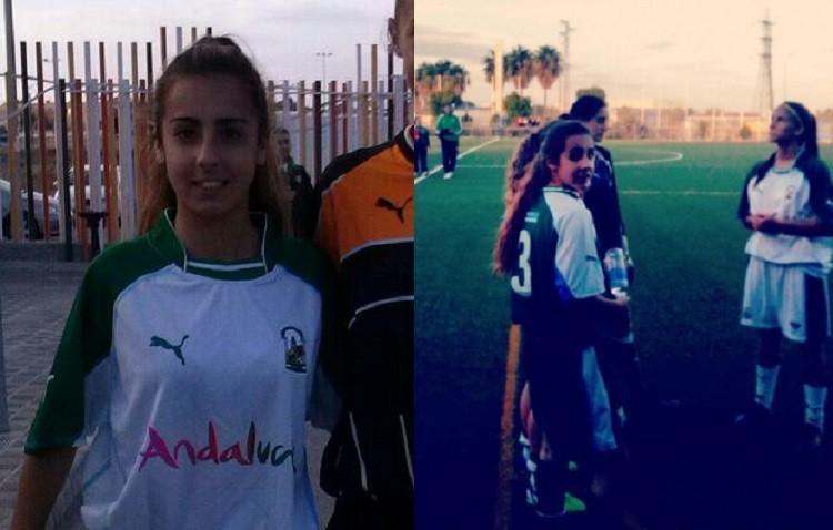 Carmen Peña, convocada con la selección andaluza sub18