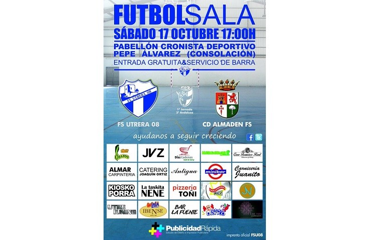 El F.S. Utrera 08 estrena la temporada «exiliado» en el Pepe Álvarez