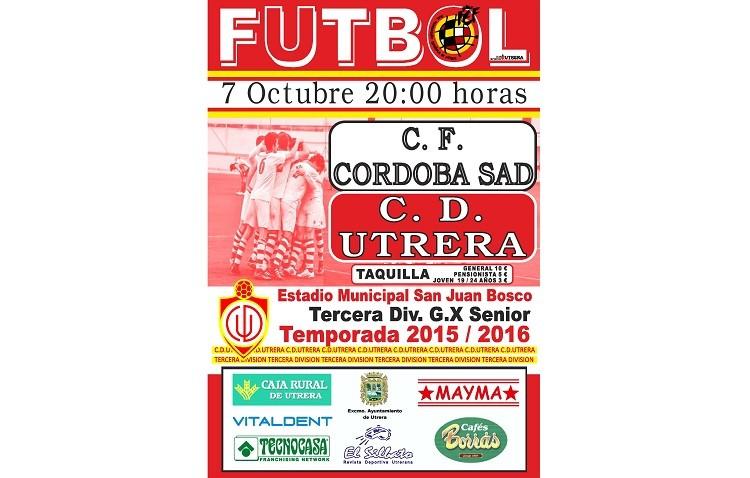 Utrera – Córdoba B: El San Juan Bosco recibe al líder