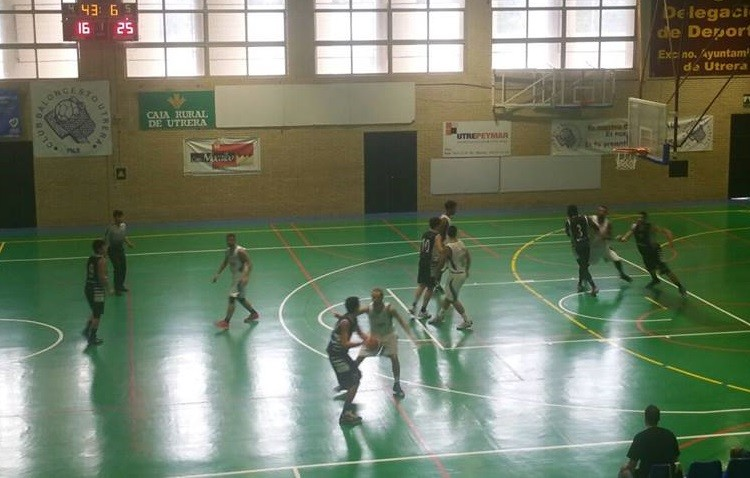 C.B. Utrera 71-80 C.B. Badajoz: El CBU se presenta con derrota