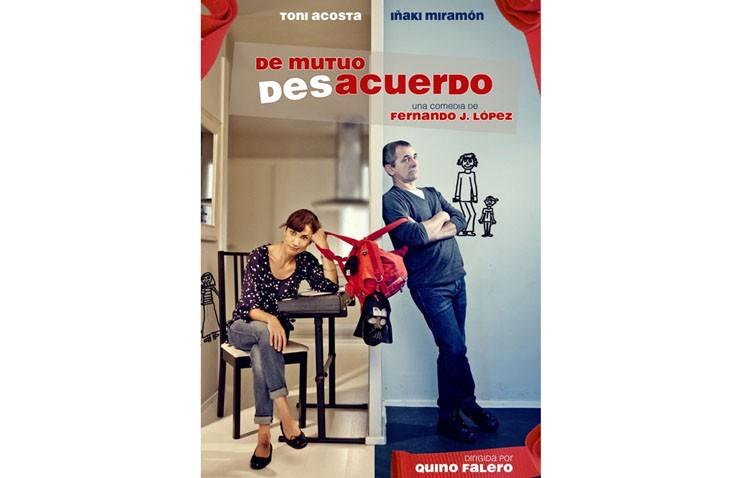 «De mutuo desacuerdo» en el teatro, con los conocidos Toni Acosta e Iñaki Miramón