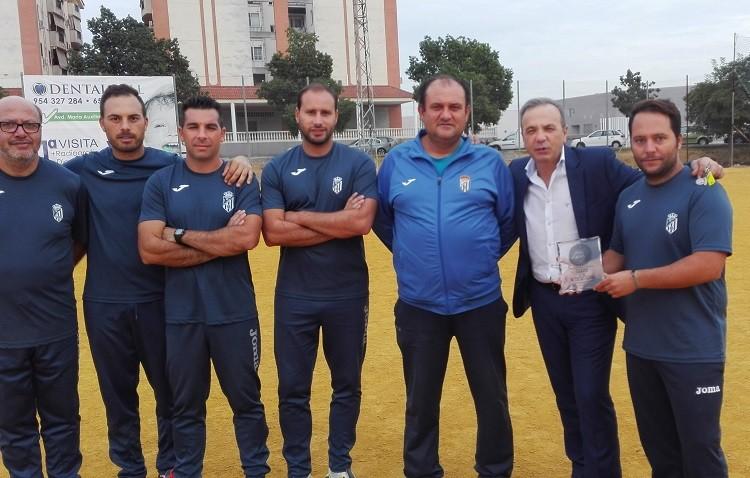 La Fundación de Joaquín Caparrós apoya al C.D. Cantera de Utrera