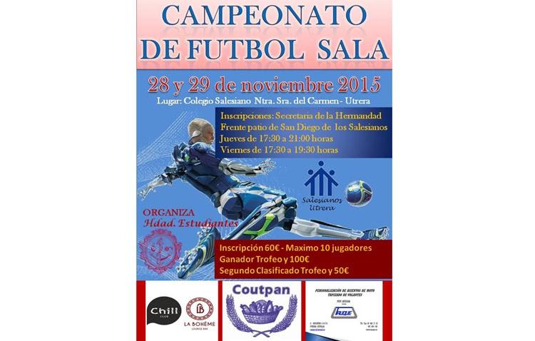 La hermandad de los Estudiantes organiza un campeonato de fútbol sala
