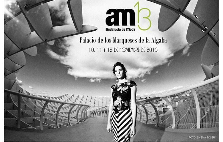 El utrerano Alejandro Postigo inaugura «Andalucía de Moda» con su nueva colección