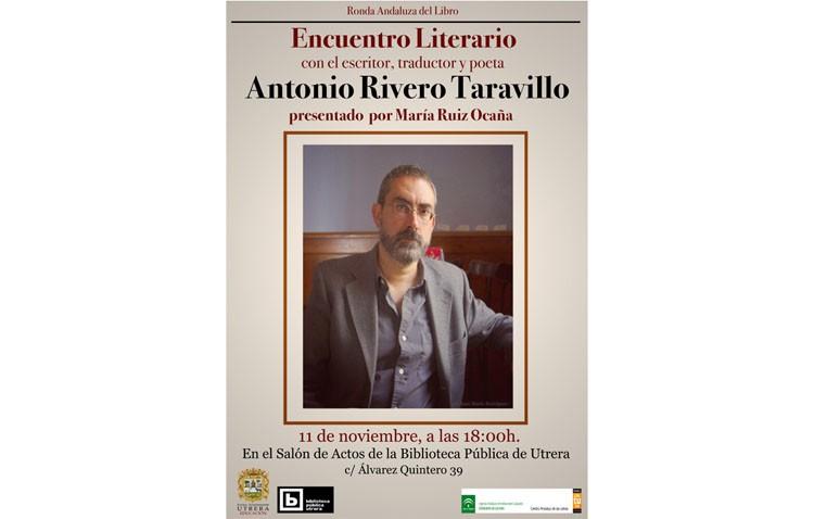 Encuentro literario con Antonio Rivero en la biblioteca