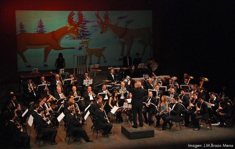 La Asociación Musical Utrerana llegará al teatro con «Walt Disney, en concierto»