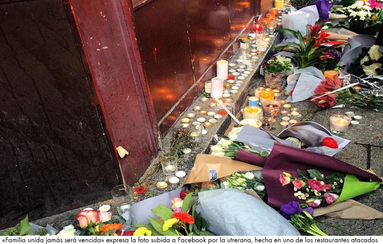 Una utrerana en París: «vi el atentado desde mi balcón» (AUDIO)