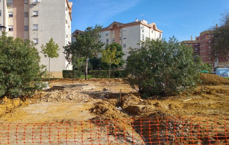 La barriada Los Militares avanza su última fase de reurbanización