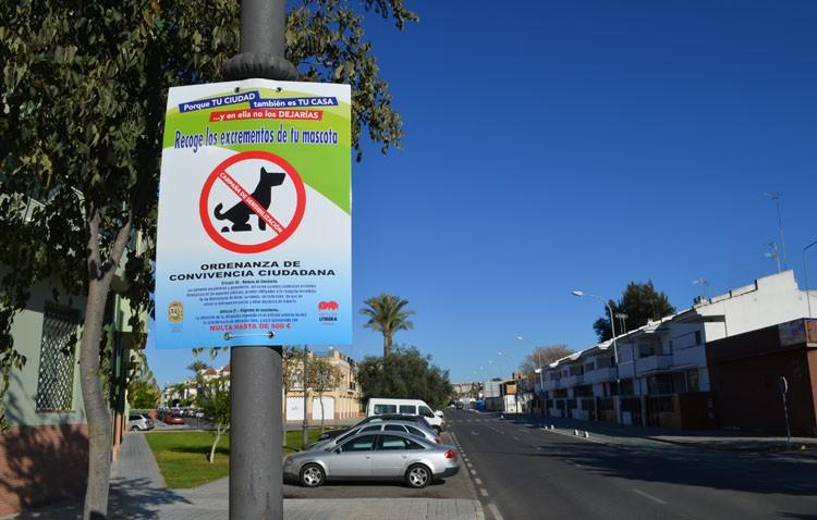 Utrera contará con «brigadas cívicas» para concienciar sobre la recogida de los excrementos caninos