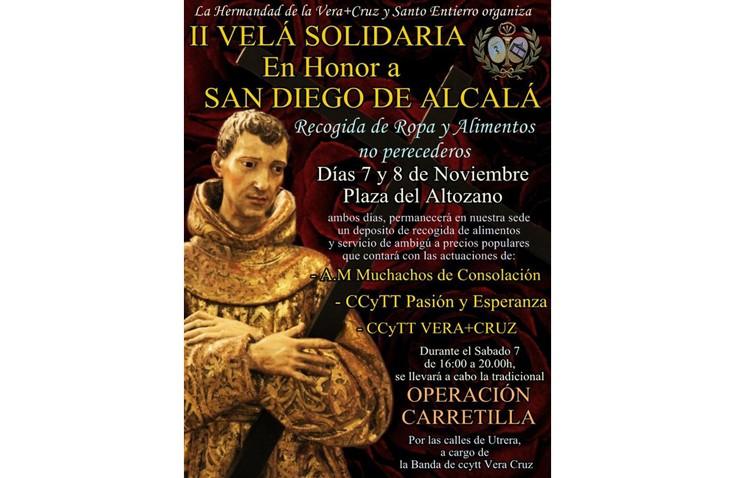 Velá solidaria y «Operación carretilla» en la hermandad de la Vera-Cruz