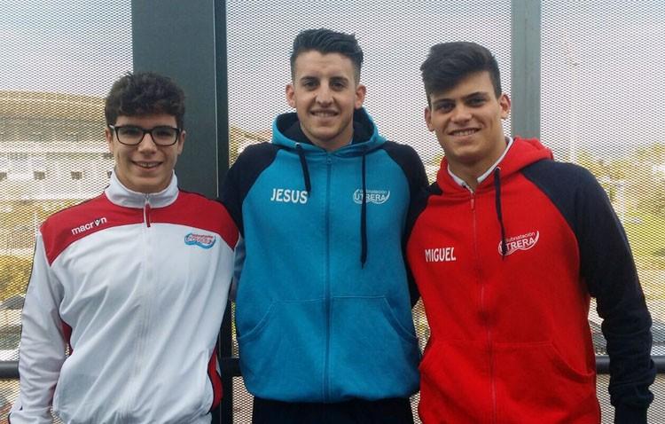 Los infantiles del Natación Utrera presentes en el campeonato andaluz
