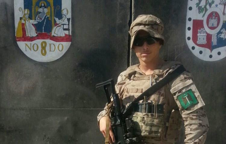 Un joven paracaidista utrerano lucha en Irak contra el Daesh