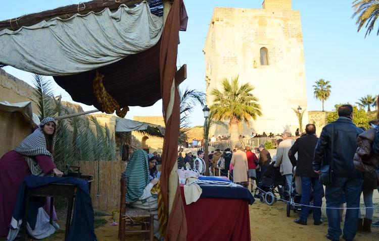 Sin belén viviente en el castillo «por culpa del Ayuntamiento»